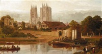 view of york by w. richards