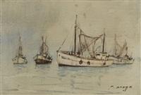 bateaux by pierre brette