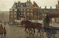 het beurspoortje: a view of the rokin with het beurspoortje, amsterdam by george hendrik breitner