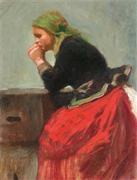 girl from cracow by gustaw pilatti