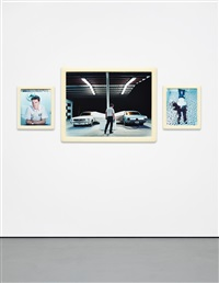 cremaster 2: the ballad of max jensen (triptych) by matthew barney
