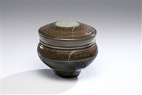 lidded vessel by ralph bacerra