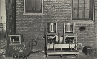 new york city (+ sunday in an alley (chicago); 2 works) by walker evans