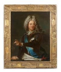portrait de louis - alexandre de bourbon, comte de toulouse by hyacinthe rigaud
