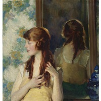 girl in the mirror by ivan g. olinsky