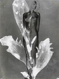 femme fleur by pierre boucher