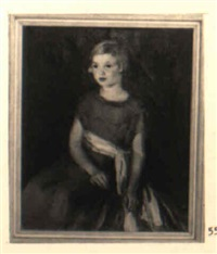 portrait of laura dean by ruth a. (temple) anderson