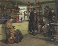 ye olde time drugge shop by abbott fuller graves