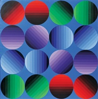 multihold by victor vasarely