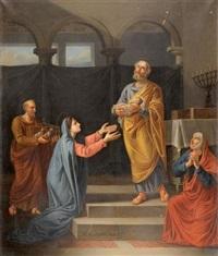 la circoncision du christ by guillaume-joseph roques