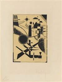 lithographie no. iii by wassily kandinsky