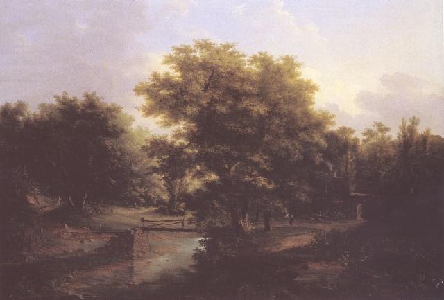 paysage animé by claude antoine jacob
