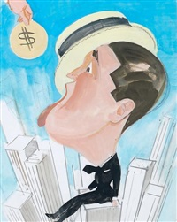 maurice chevalier sur les toits de new york by james rassiat