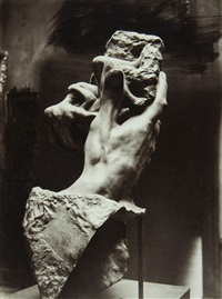studies of rodin's sculptures (6 works) by p. choumoff