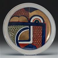 american imari mod platter by ralph bacerra
