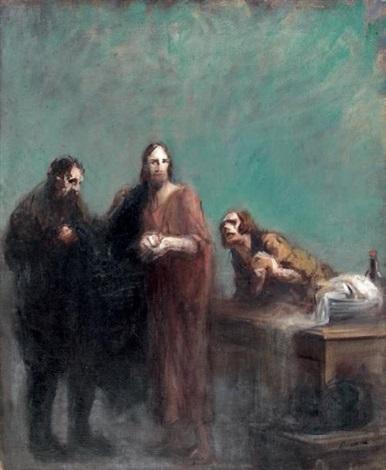 scène biblique by jean louis forain
