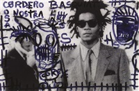 costa nostra by horacio cordero and jean-michel basquiat