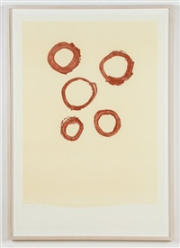 five circles by robert motherwell