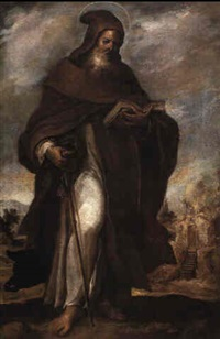 st. anthony abbot by francisco camilo