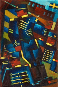 blå husarer (blue hussars) by gösta adrian-nilsson and erik olson