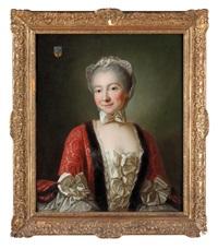 ritratto di dama (marchesa de beauharnais) by françois hubert drouais
