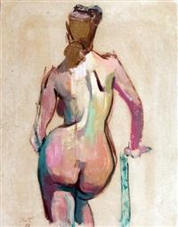 desnudo de espalda by ernesto scotti