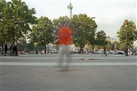 self-portrait spinning (invalides) (+ bastille; 2 works) by shaun gladwell