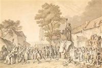 fête de la vieillesse, fructidor, an iii by pierre alexandre wille