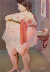 mujer al baño by clarel neme