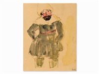 standing siberian by emil nolde