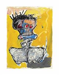untitled (head) by jean-michel basquiat
