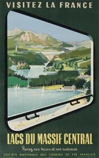 lacs du massif central by jean jacquelin