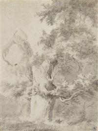 paysage au grand arbre by jean-jacques de boissieu