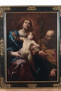 sacra famiglia by gioacchino assereto