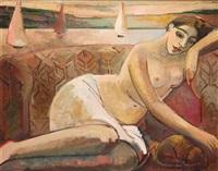 sjesta, kobieta na sofie ii by anna karpowicz-westner