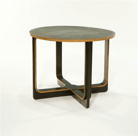 plywood table by paul r williams