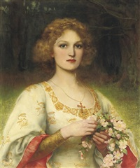 maid marian by william clarke wontner