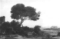 paysage by jean emile renié