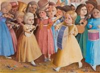 la orquesta de niñas by clarel neme