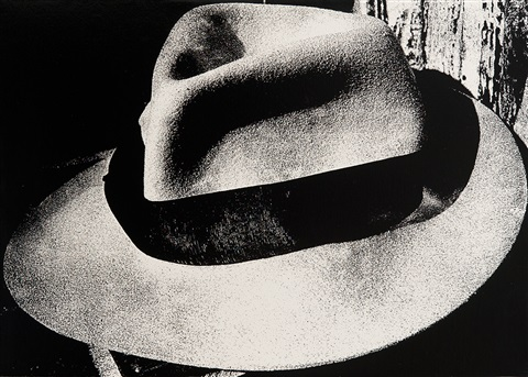 light and shadow 4 hat by daido moriyama