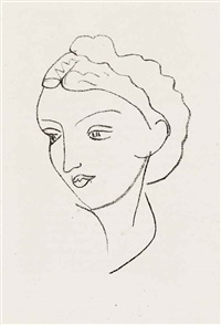 repli (album of 18 w/title, justif. & text by andré rouveyre) by henri matisse
