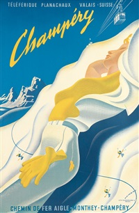champéry / chemin de fer aigle by martin peikert