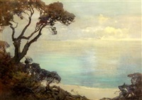 view from point danger to the mornington peninsula by theodore penleigh boyd