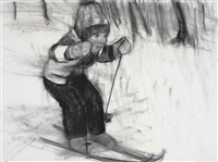 ...i'll never be a good skier ii by rita ackermann