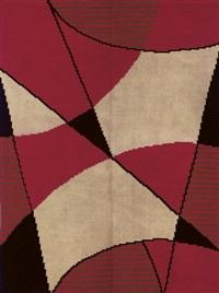 modernist carpet by antonín kybal