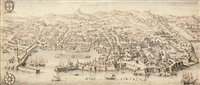 view of genoa by francesco zucchi