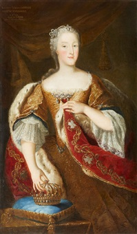 portrait of queen elisabeth therese of sardin by anonymous (18)
