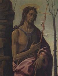 saint jean baptiste by jacopo del sellaio