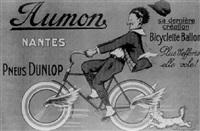 aumon nantes, pneus dunlop by marcel-j.-l. jacquier