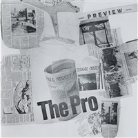 features from currents by robert rauschenberg